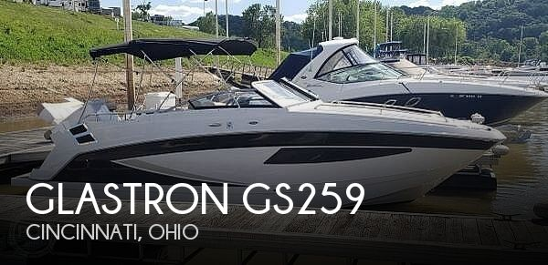 Used Glastron Boats For Sale in Ohio by owner   2017 Glastron GS259