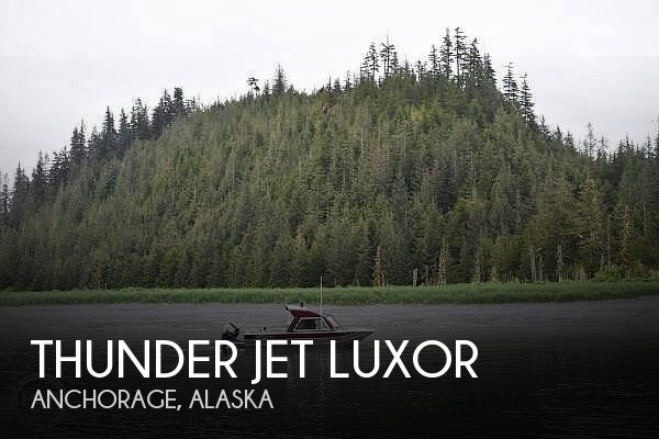 Used Boats For Sale in Anchorage, Alaska by owner | 2016 22 foot Thunder Jet Luxor