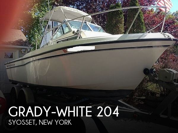 Used Grady-White Boats For Sale in New York, New York by owner | 1990 Grady-White 204