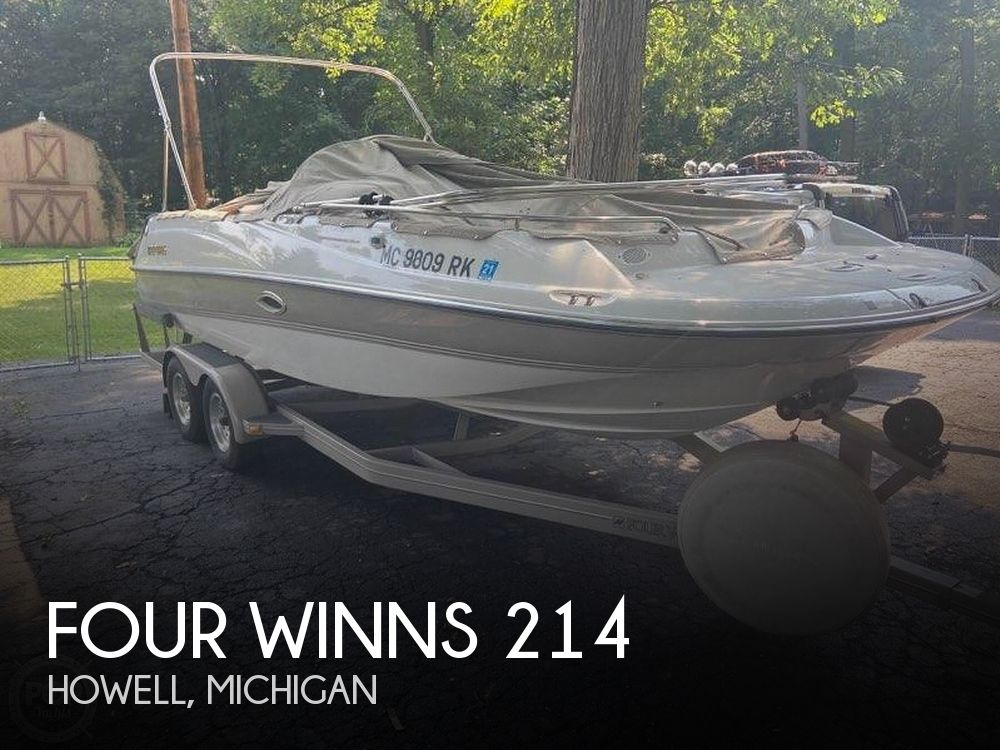 Used Four Winns Boats For Sale in Michigan by owner | 1997 Four Winns 214