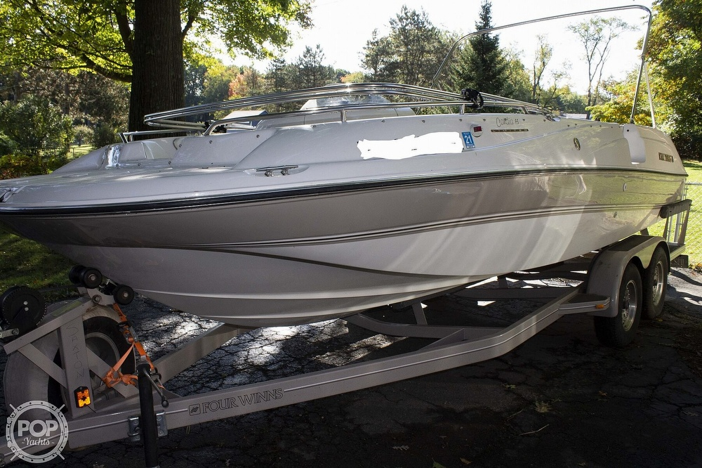 1997 Four Winns boat for sale, model of the boat is 214 Candia FS Limited & Image # 6 of 33