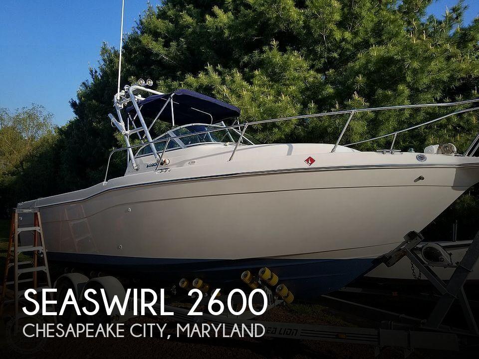 1997 Seaswirl boat for sale, model of the boat is Striper 2600 WA & Image # 1 of 40