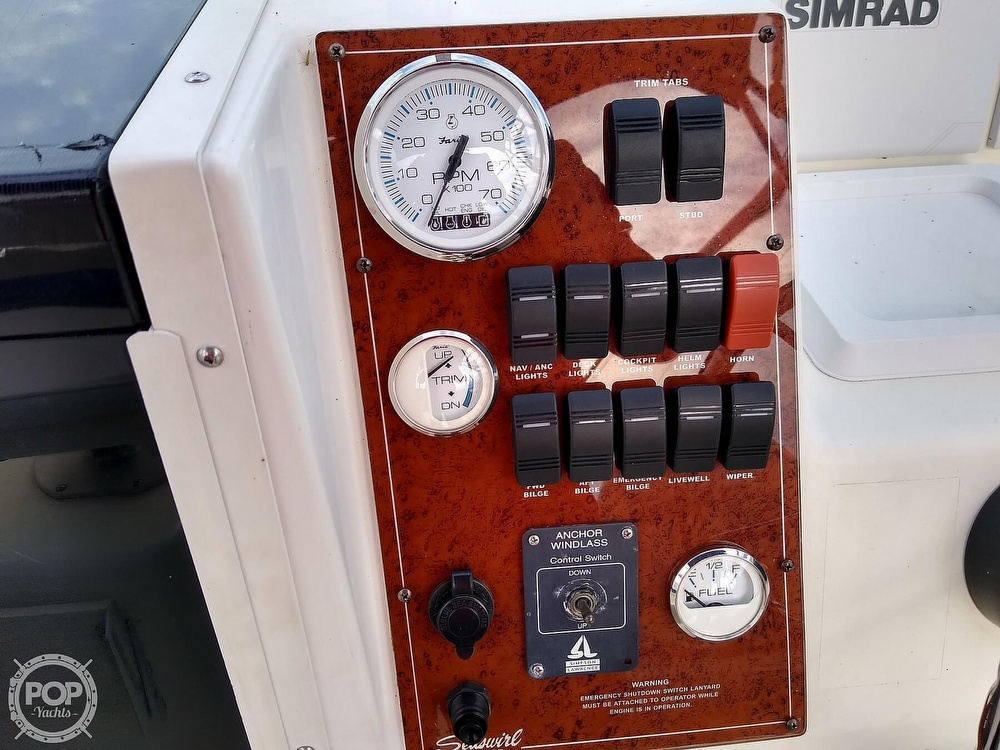 1997 Seaswirl boat for sale, model of the boat is Striper 2600 WA & Image # 25 of 40