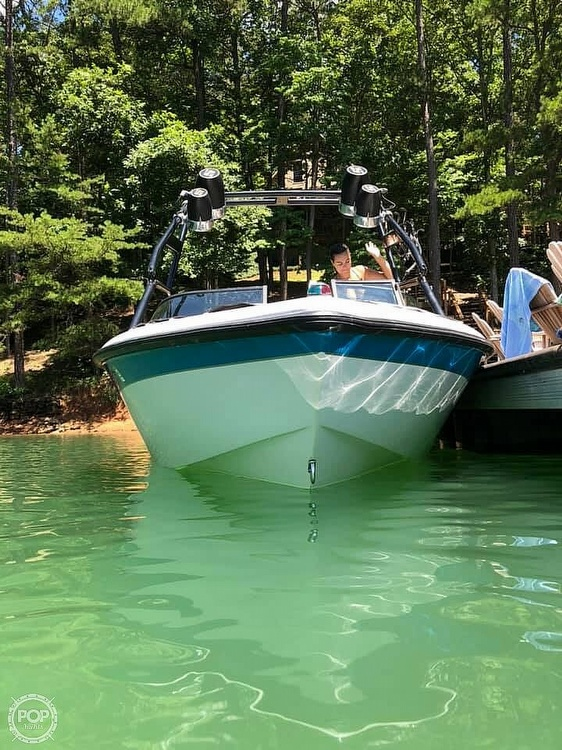2000 Correct Craft boat for sale, model of the boat is 210 Super Air Nautique & Image # 11 of 25