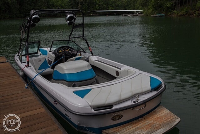 2000 Correct Craft boat for sale, model of the boat is 210 Super Air Nautique & Image # 22 of 25