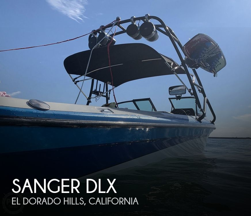 1995 Sanger boat for sale, model of the boat is DLX & Image # 1 of 40