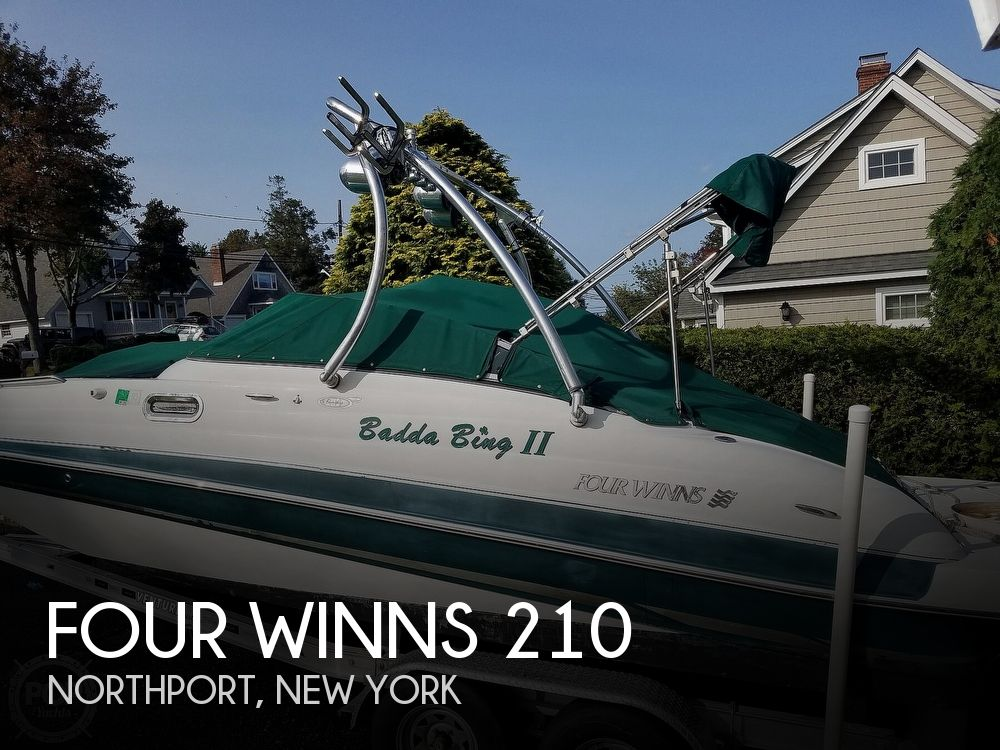 2004 FOUR WINNS 210 FUN SHIP for sale