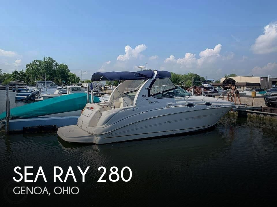 Used Boats For Sale in Toledo, Ohio by owner | 2003 Sea Ray Sundancer 280
