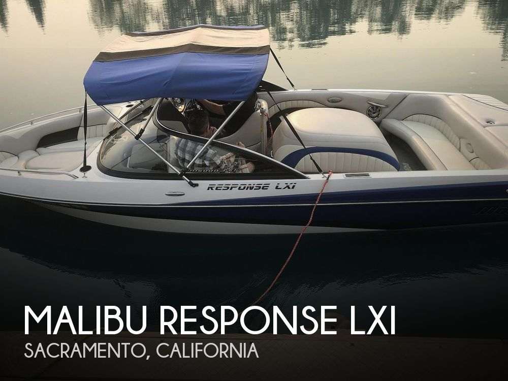 2005 Malibu boat for sale, model of the boat is Response LXI & Image # 1 of 41