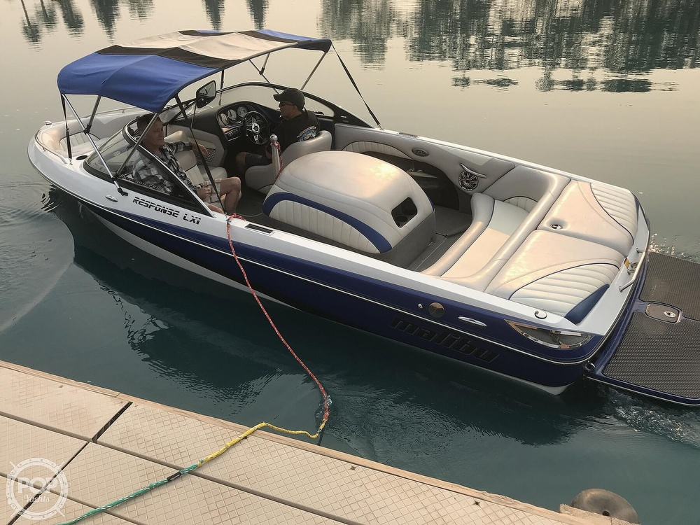 2005 Malibu boat for sale, model of the boat is Response LXI & Image # 2 of 41