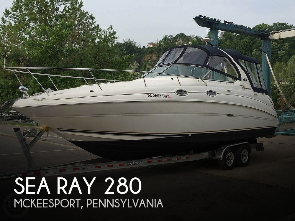 Used Sea Ray 280 Sundancer Boats For Sale by owner | 2001 Sea Ray 280 Sundancer