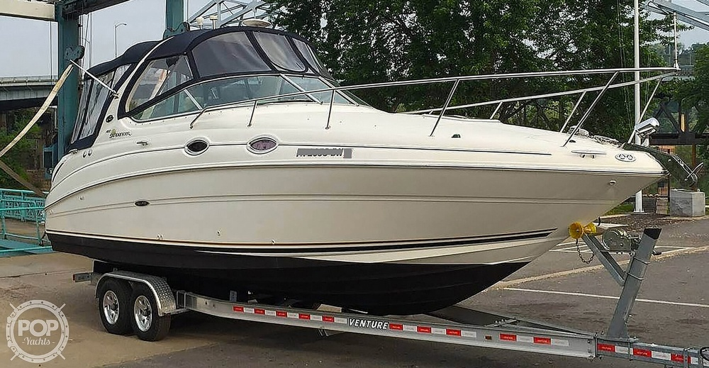 2001 Sea Ray boat for sale, model of the boat is 280 Sundancer & Image # 16 of 41