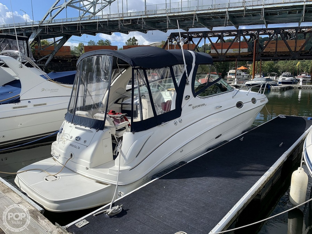 2001 Sea Ray boat for sale, model of the boat is 280 Sundancer & Image # 14 of 41