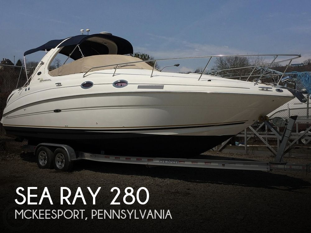 2001 Sea Ray boat for sale, model of the boat is 280 Sundancer & Image # 1 of 41