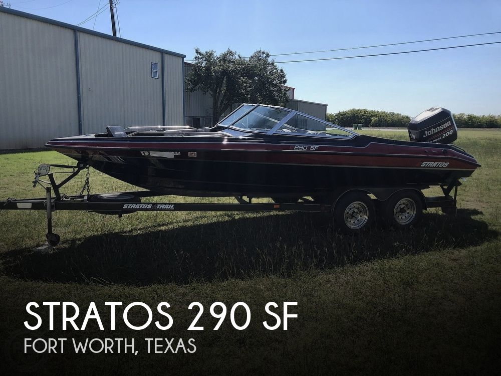1997 Stratos boat for sale, model of the boat is 290 SF & Image # 1 of 40