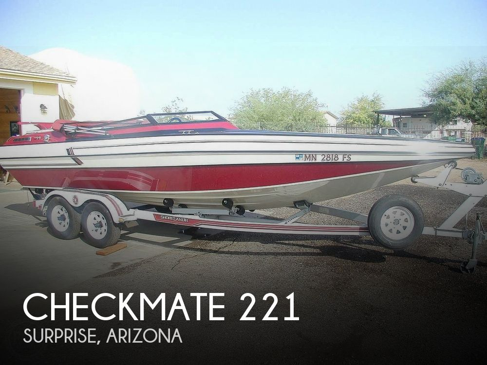 Used Checkmate Boats For Sale by owner   1988 Checkmate Vision 221