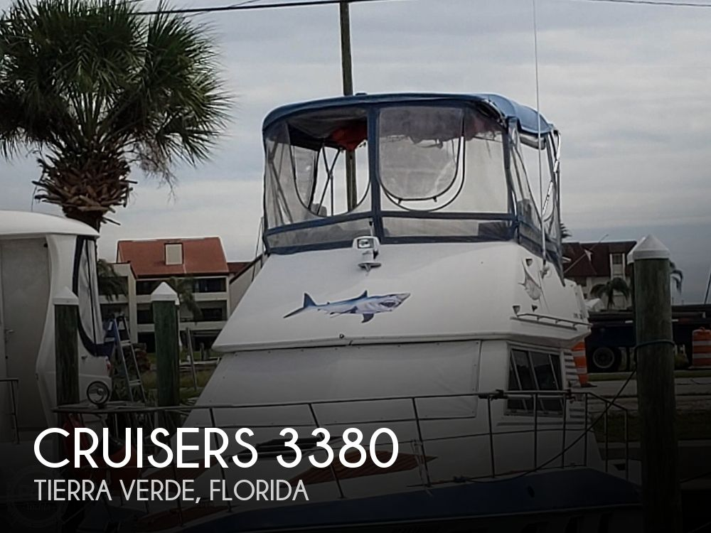 1988 Cruisers Yachts boat for sale, model of the boat is 3380 Esprit & Image # 1 of 40