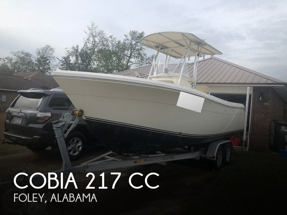 2014 Cobia boat for sale, model of the boat is 217 CC & Image # 1 of 40