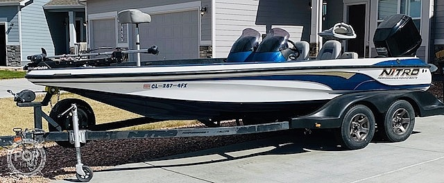 2003 Nitro boat for sale, model of the boat is 911 CDC & Image # 10 of 19