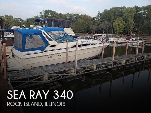 1986 Sea Ray 340 Sundancer