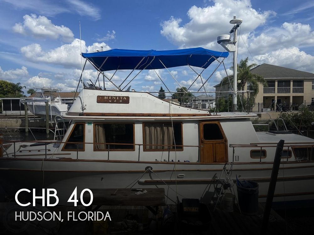 Used CHB Boats For Sale in Florida by owner | 1979 CHB 40