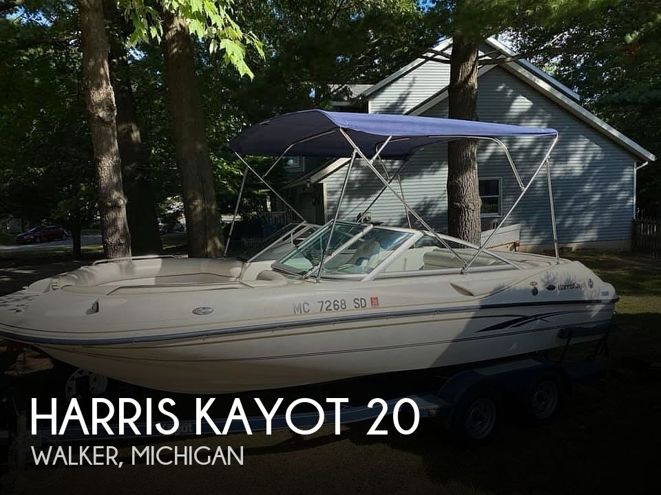 Used Harris Kayot Deck Boats For Sale by owner | 2002 Harris Kayot Star 20V