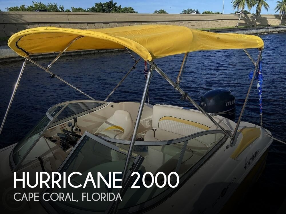 2008 Hurricane boat for sale, model of the boat is SunDeck 2000 & Image # 1 of 41