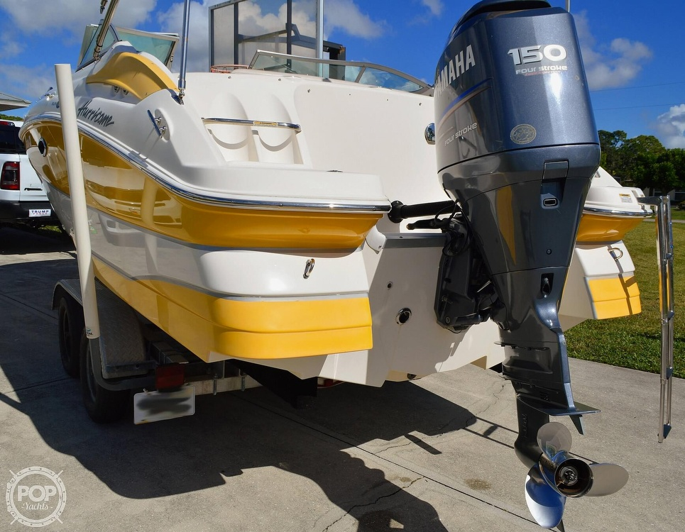 2008 Hurricane boat for sale, model of the boat is SunDeck 2000 & Image # 13 of 41