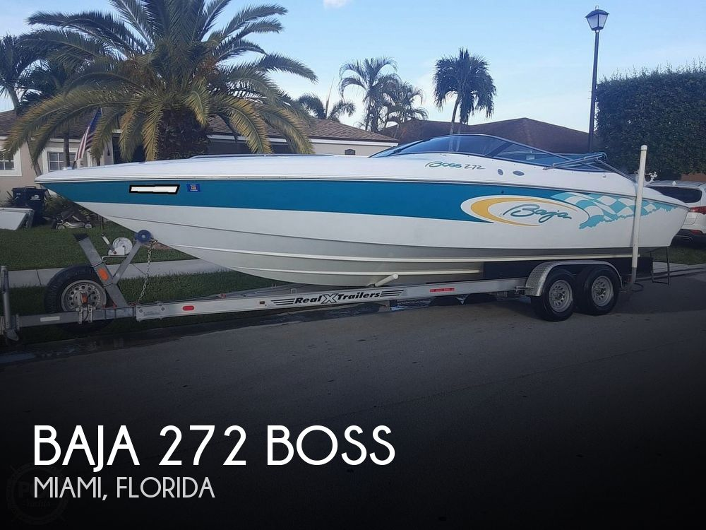 2001 Baja boat for sale, model of the boat is 272 Boss & Image # 1 of 40
