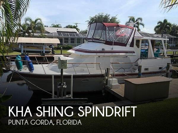 Used Kha shing Boats For Sale by owner | 1987 39 foot Kha Shing Spindrift