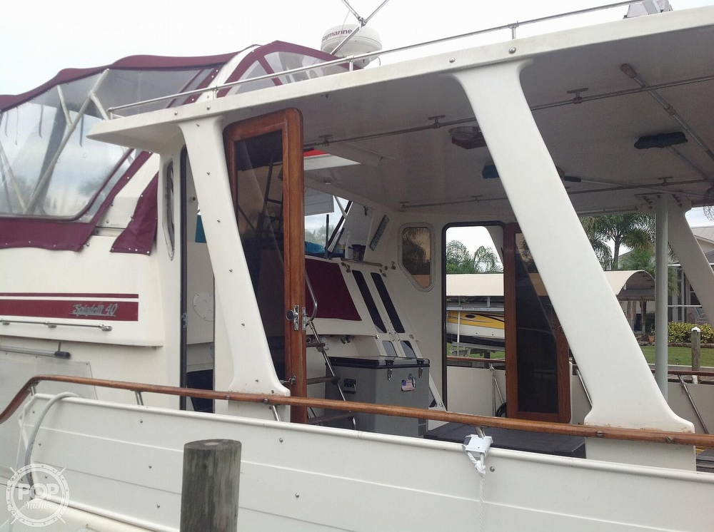 1987 Kha Shing boat for sale, model of the boat is 40 Spindrift & Image # 19 of 40