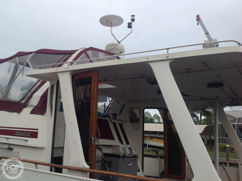 1987 Kha Shing boat for sale, model of the boat is 40 Spindrift & Image # 20 of 40
