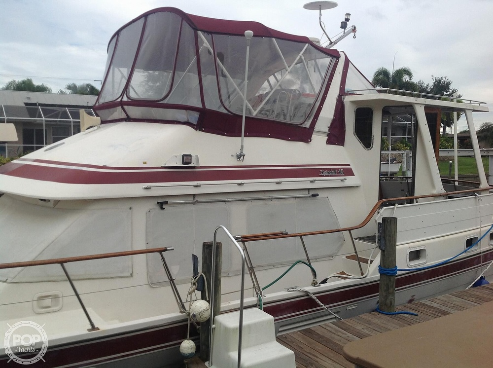 1987 Kha Shing boat for sale, model of the boat is 40 Spindrift & Image # 22 of 40