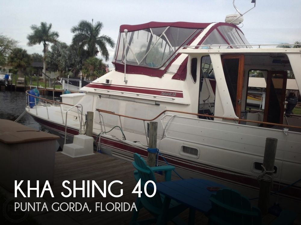 1987 Kha Shing boat for sale, model of the boat is 40 Spindrift & Image # 1 of 40