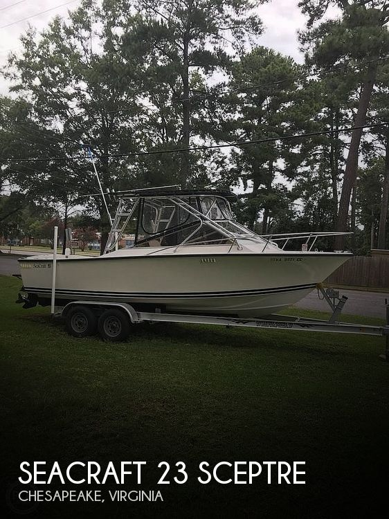 Used SEACRAFT Boats For Sale by owner   1975 SeaCraft 23 Sceptre