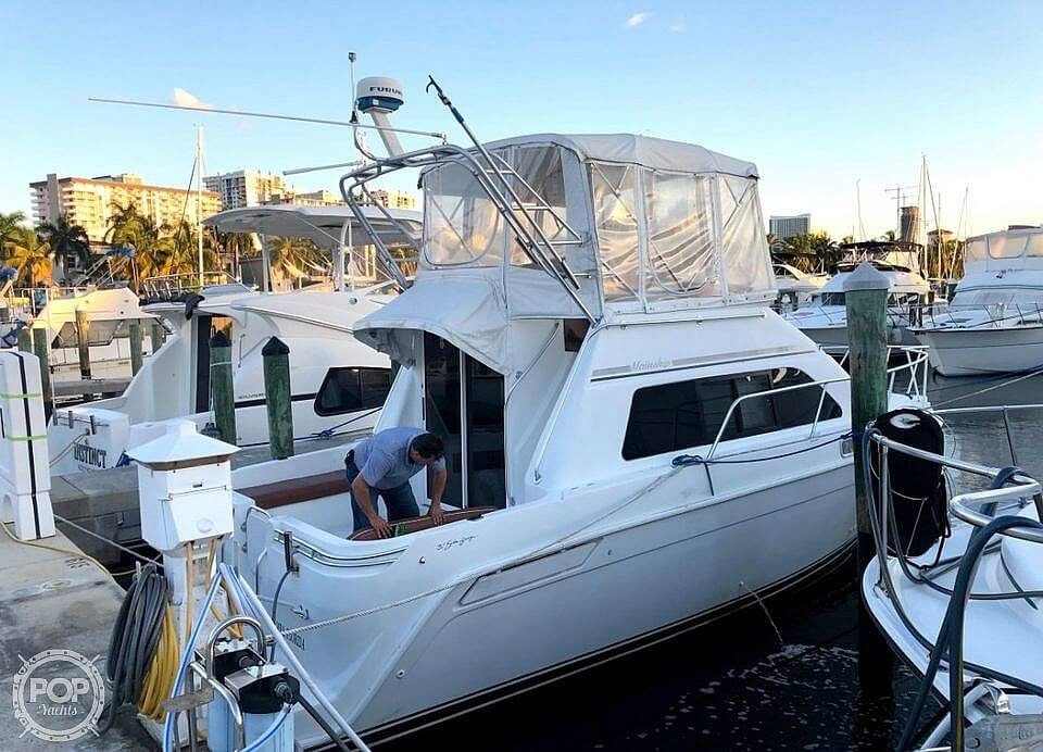 1995 Mainship boat for sale, model of the boat is Sedan Bridge & Image # 8 of 17