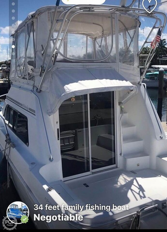 1995 Mainship boat for sale, model of the boat is Sedan Bridge & Image # 7 of 17