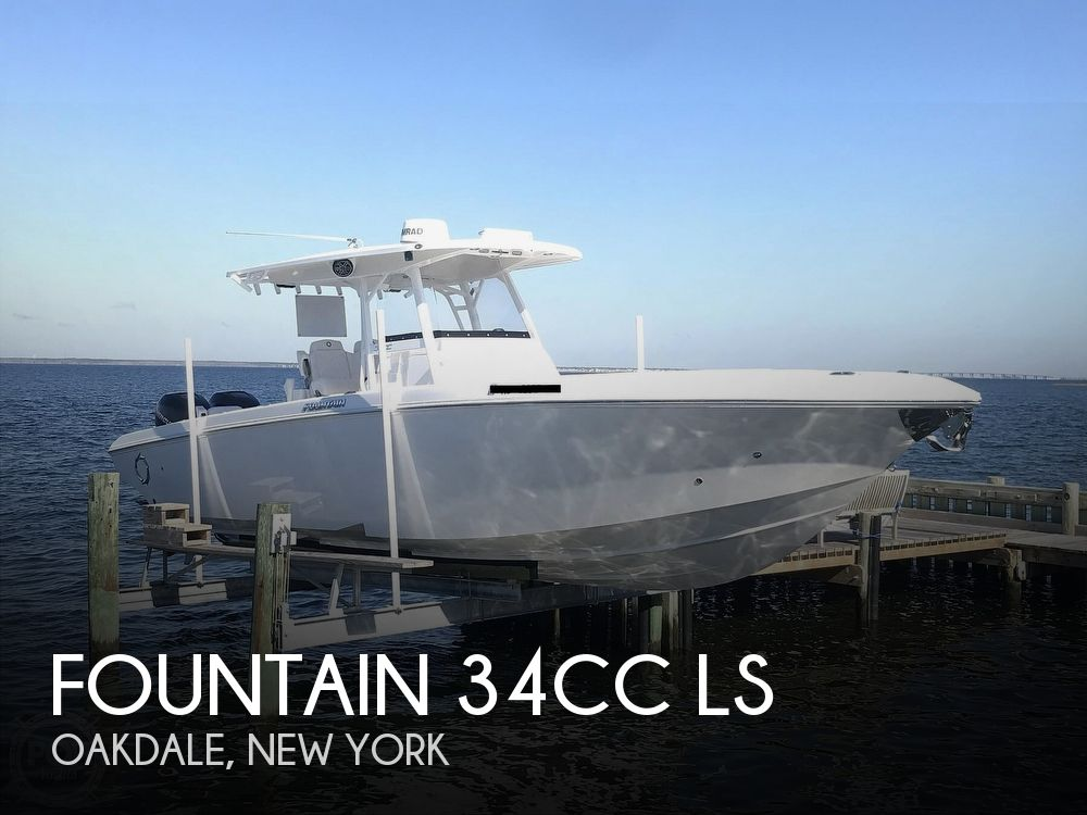 2020 Fountain boat for sale, model of the boat is 34CC LS & Image # 1 of 40