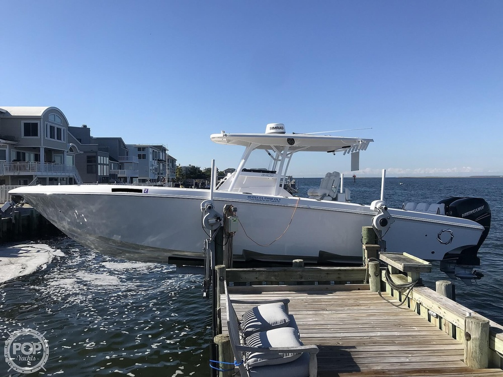 2020 Fountain boat for sale, model of the boat is 34CC LS & Image # 4 of 40