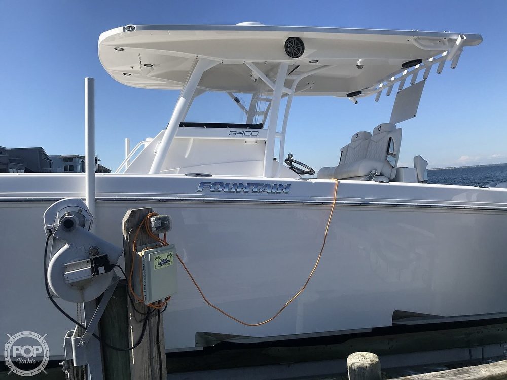 2020 Fountain boat for sale, model of the boat is 34CC LS & Image # 6 of 40