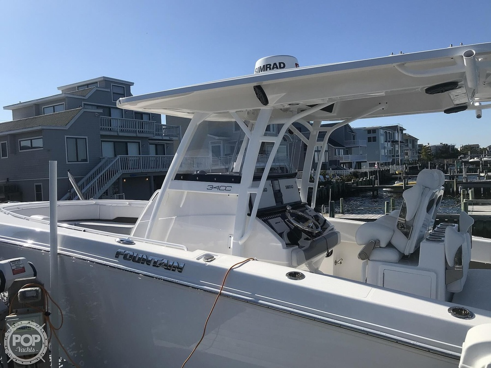2020 Fountain boat for sale, model of the boat is 34CC LS & Image # 8 of 40