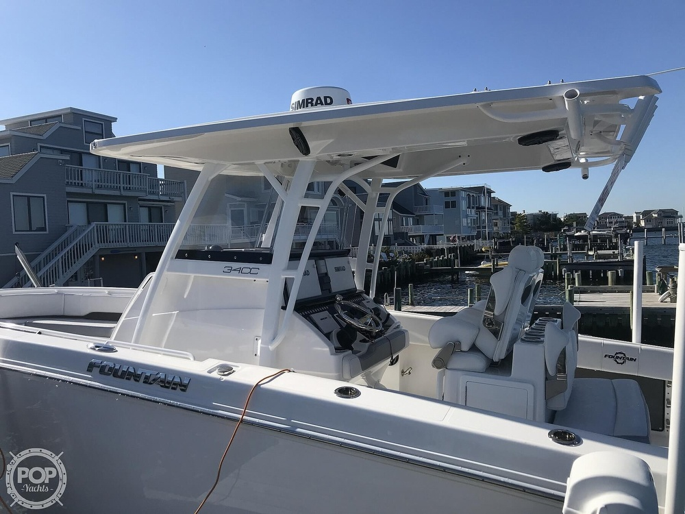 2020 Fountain boat for sale, model of the boat is 34CC LS & Image # 9 of 40