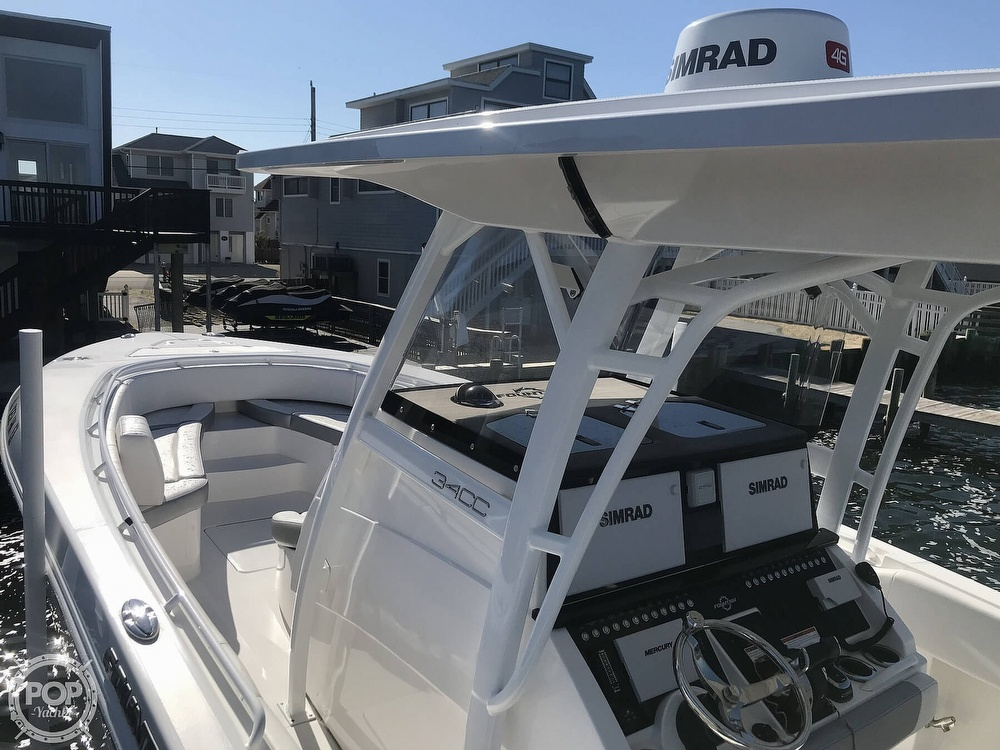2020 Fountain boat for sale, model of the boat is 34CC LS & Image # 10 of 40