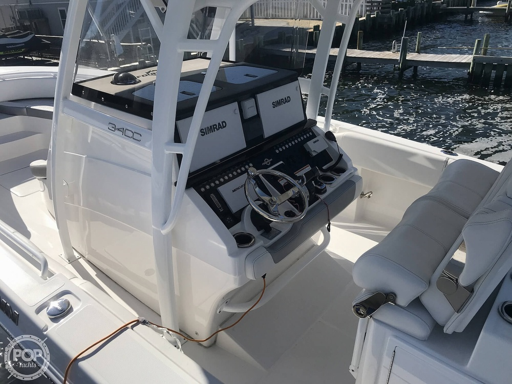 2020 Fountain boat for sale, model of the boat is 34CC LS & Image # 11 of 40