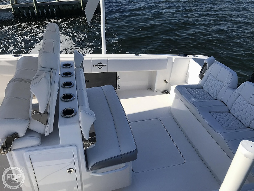 2020 Fountain boat for sale, model of the boat is 34CC LS & Image # 12 of 40