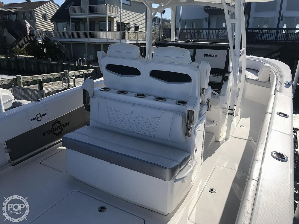 2020 Fountain boat for sale, model of the boat is 34CC LS & Image # 33 of 40