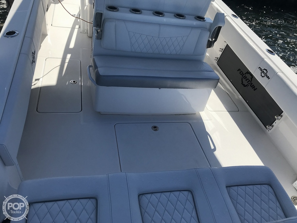 2020 Fountain boat for sale, model of the boat is 34CC LS & Image # 37 of 40