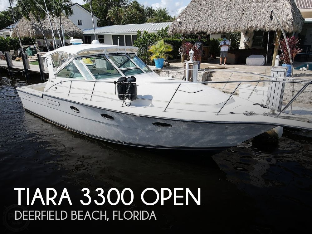 1996 Tiara Yachts boat for sale, model of the boat is 3300 Open & Image # 1 of 40