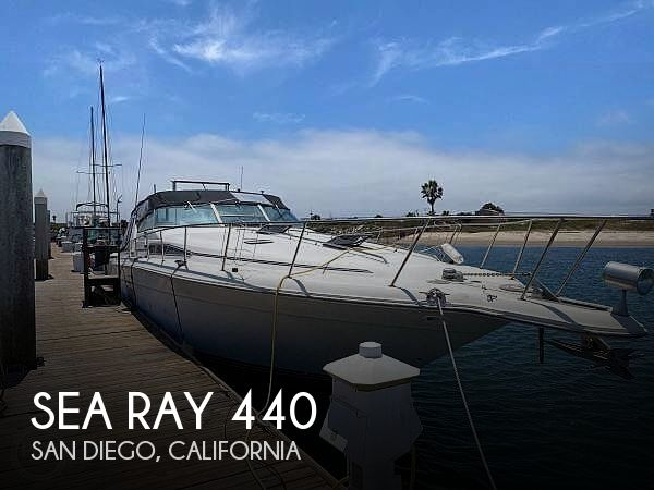 Used Sea Ray Boats For Sale in California by owner | 1992 Sea Ray Sundancer 440