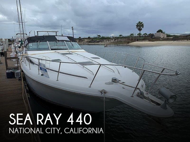 1992 Sea Ray boat for sale, model of the boat is Sundancer 440 & Image # 1 of 40